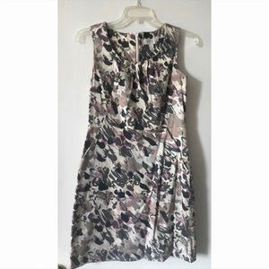 LOFT Cotton shift dress with pockets